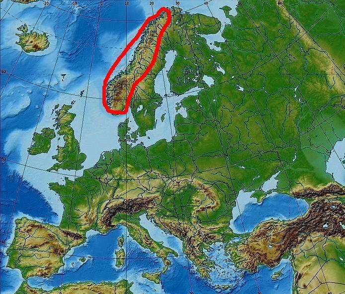 Evropa Na Mape